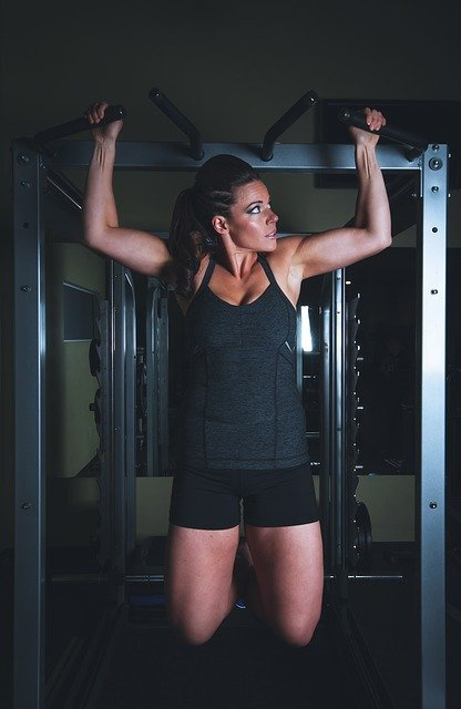 PULL UPS GOOD MORNING EXERCISE